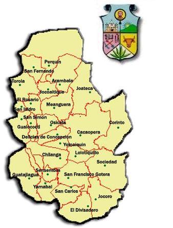 Municipios de Morazán